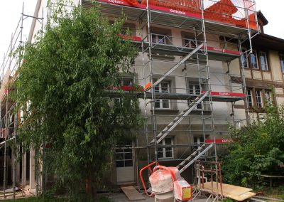 Echafaudages maison Fribourg