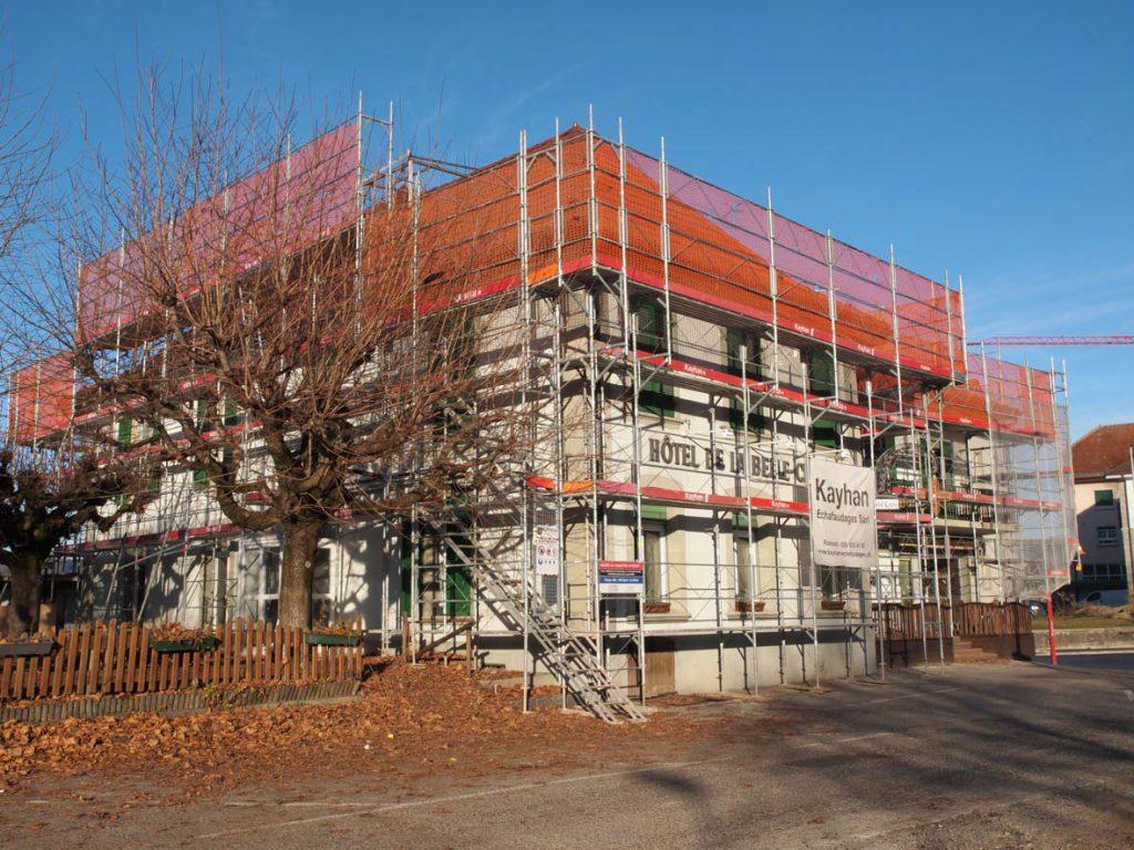 Montage et location d'échafaudages à Romont